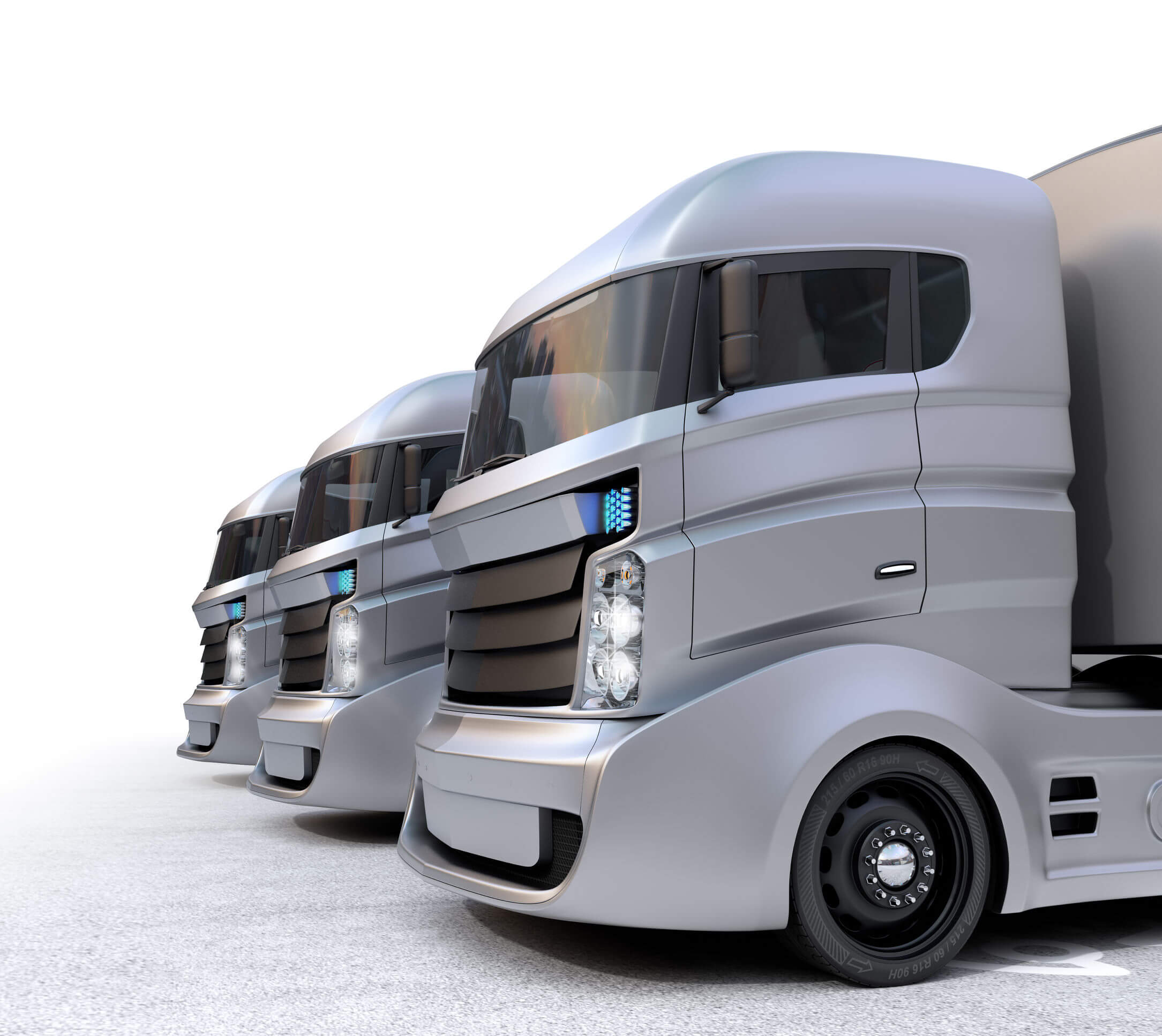 logan s eerie portrayal of autonomous trucks. Black Bedroom Furniture Sets. Home Design Ideas