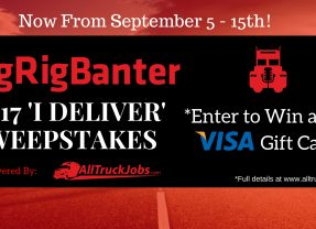 2017 I Deliver Sweepstakes by Big Rig Banter | Official Rules