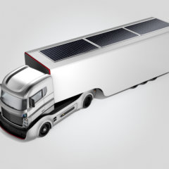 Trucking Under the Sun: Solar Panels for Trucks