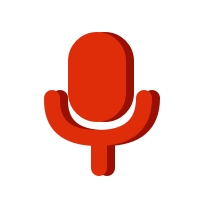 Logo of microphone