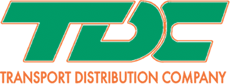 Transport Distribution Co. Logo